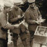 Duitse soldaten verzenden berichten