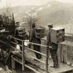 Duits postduivenvervoer naar andere stelling