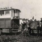Belgisch leger. Verplaatsbaar duivenhok anno 1918