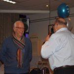Ad van Berkom bedankt Gerrit voor onderhoud website