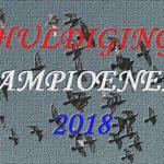 Kampioenen 2018
